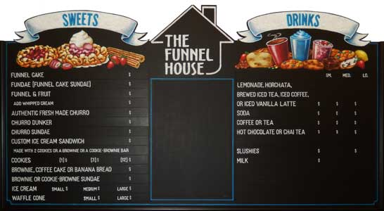 chalk menu boards